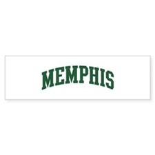 Memphis (green) Bumper Sticker (10 pk)