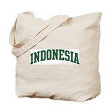 Indonesia (green) Tote Bag
