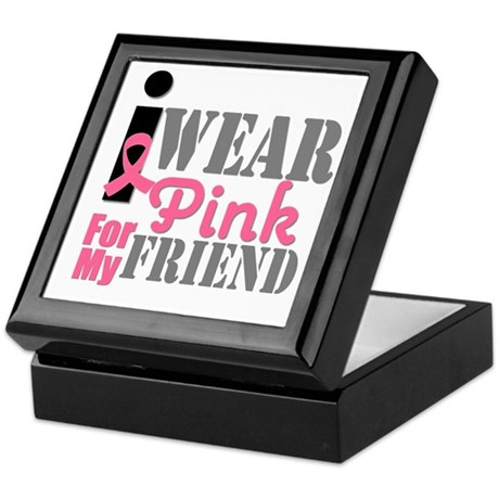 IWearPink Friend Keepsake Box
