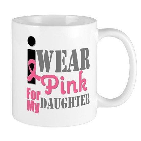 IWearPink Daughter Mug