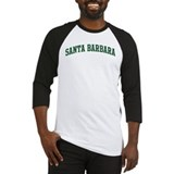 Santa Barbara (green) Baseball Jersey