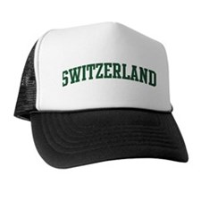 Switzerland (green) Trucker Hat