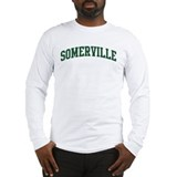 Somerville (green) Long Sleeve T-Shirt