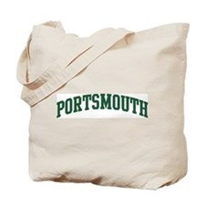 Portsmouth (green) Tote Bag
