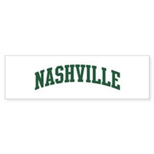 Nashville (green) Bumper Sticker (50 pk)