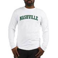Nashville (green) Long Sleeve T-Shirt