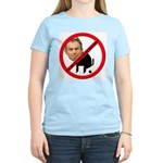 No Tony Blair Bullcrap Women's Pink T-Shirt