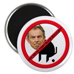 No Tony Blair Bullcrap Magnet