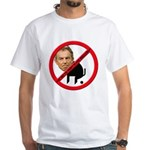 No Tony Blair Bullcrap White T-Shirt