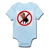 No Donald Rumsfeld Bullcrap Infant Creeper