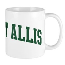 West Allis (green) Coffee Mug