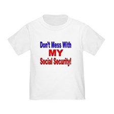 My Social Security (Front) T