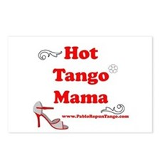 Hot Tango Mama Postcards (Package of 8)