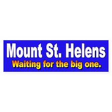 Mount St. Helens Bumper Bumper Sticker
