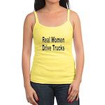 Real Women Drive Trucks Jr. Spaghetti Tank
