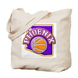 Phoenix Basketball Tote Bag