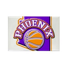 Phoenix Basketball Rectangle Magnet (100 pack)