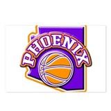 Phoenix Basketball Postcards (Package of 8)