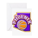 Phoenix Basketball Greeting Card
