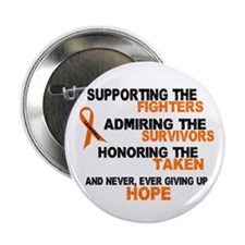 "Supporting Admiring Honoring 3 LEUKEMIA 2.25"" Butt"