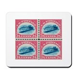 US stamp 24c Inverted Jenny Mousepad
