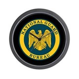 National Guard Bureau Seal Wall Clock