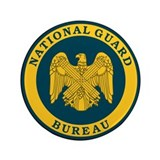 "National Guard Bureau Seal 3.5"" Button"