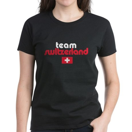 Team Switzerland Women's Dark T-Shirt