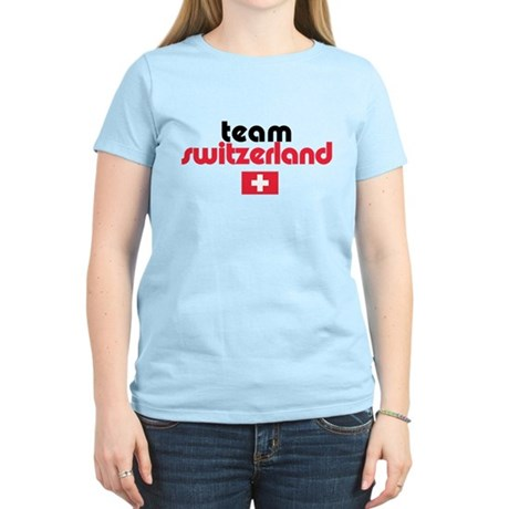 Team Switzerland Women's Light T-Shirt