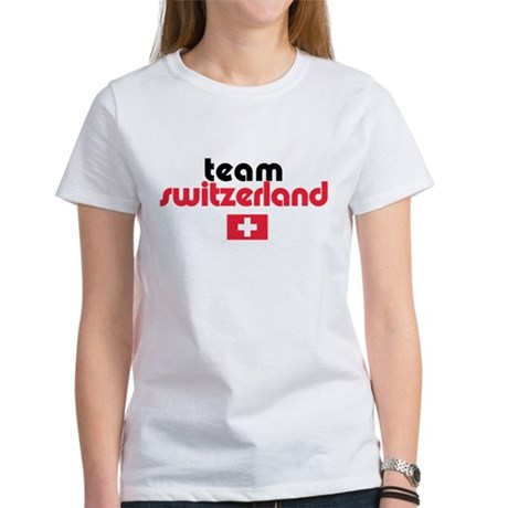 Team Switzerland Women's T-Shirt