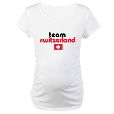 Team Switzerland Maternity T-Shirt