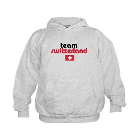 Team Switzerland Kids Hoodie