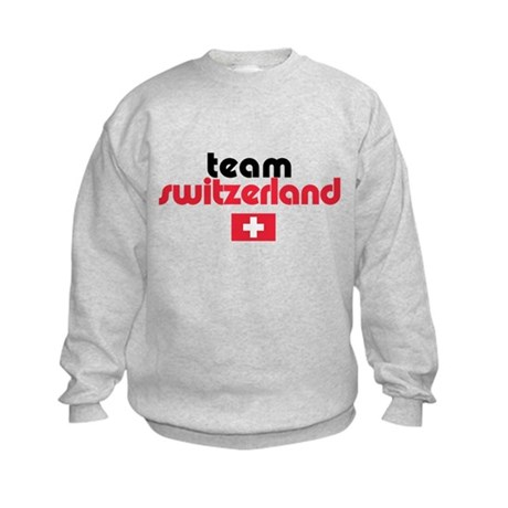 Team Switzerland Kids Sweatshirt