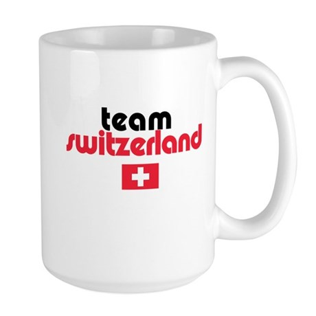 Team Switzerland Large Mug