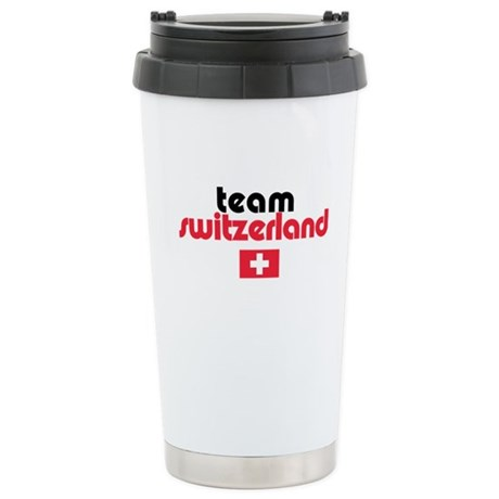 Team Switzerland Ceramic Travel Mug