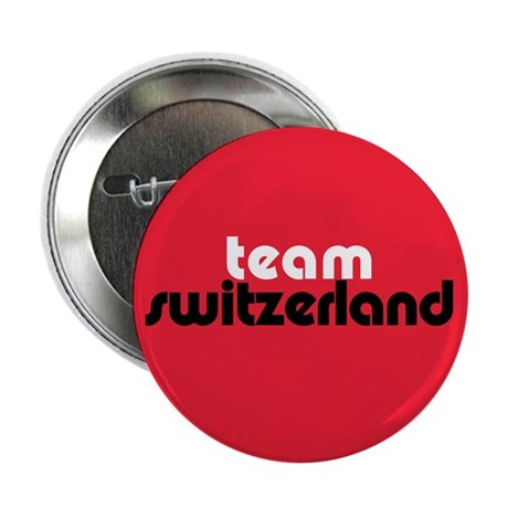 Team Switzerland 2.25&quot; Button (10 pack)