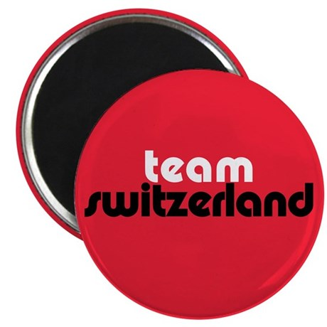 Team Switzerland 2.25&quot; Magnet (100 pack)