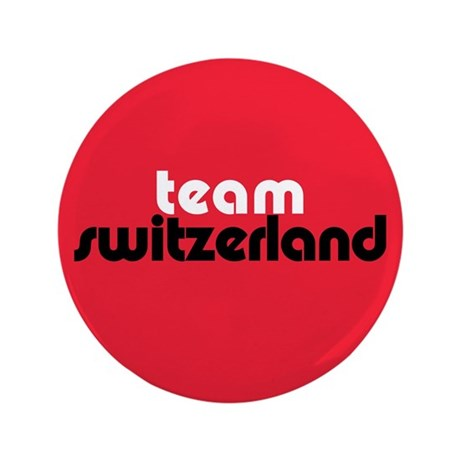 Team Switzerland 3.5&quot; Button (100 pack)