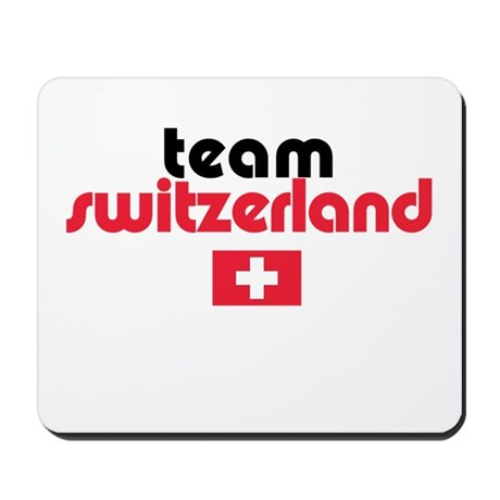 Team Switzerland Mousepad