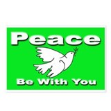 Peace Be With You Postcards (Package of 8)