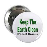 Keep the Earth Clean Button