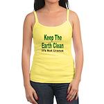 Keep the Earth Clean Jr. Spaghetti Tank