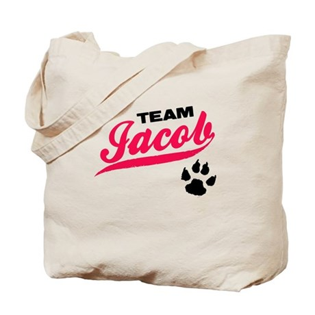 Team Jacob Twilight Tote Bag
