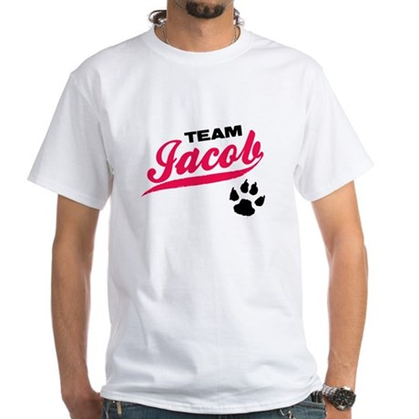 Team Jacob Twilight White T-Shirt