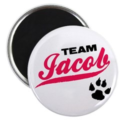 "Team Jacob Twilight 2.25"" Magnet (10 pack)"
