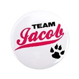 Team Jacob Twilight 3.5&quot; Button