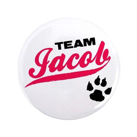 "Team Jacob Twilight 3.5"" Button (100 pack)"