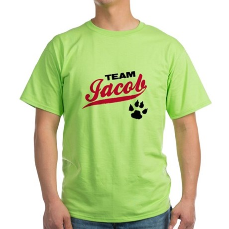 Team Jacob Twilight Green T-Shirt