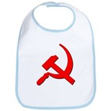Soviet Retro Hammer and Sickle Bib