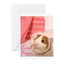 Dream Piggies 2 Greeting Cards (Pk of 10)